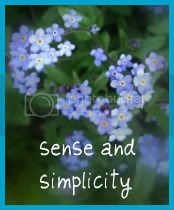 Sense and Simplicity