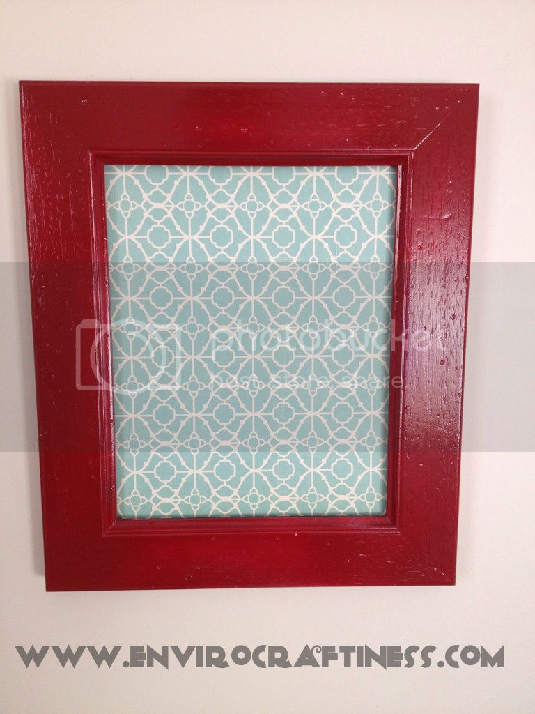 red picture frame, Uploaded from the Photobucket iPhone App